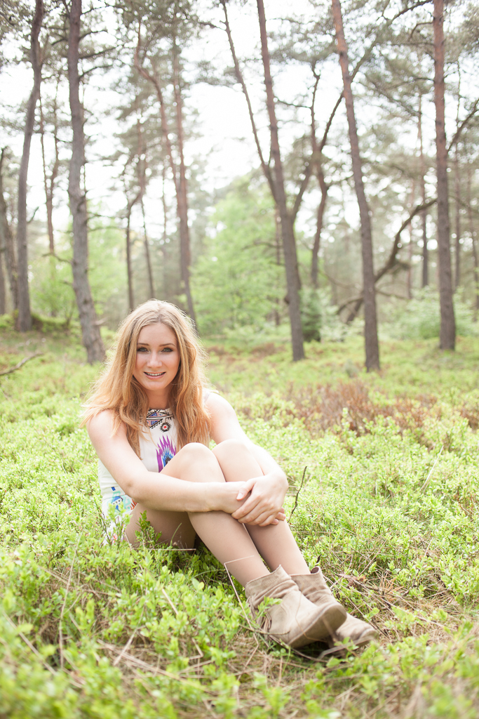 Fotoshoot met model Elise