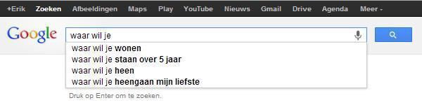 Gedichten uit Google