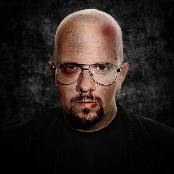 Photoshop - Zelfportret als Walther White - Heisenberg, Breaking Bad