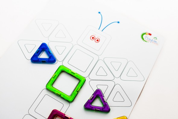Productfotografie - Magformers Playble tools