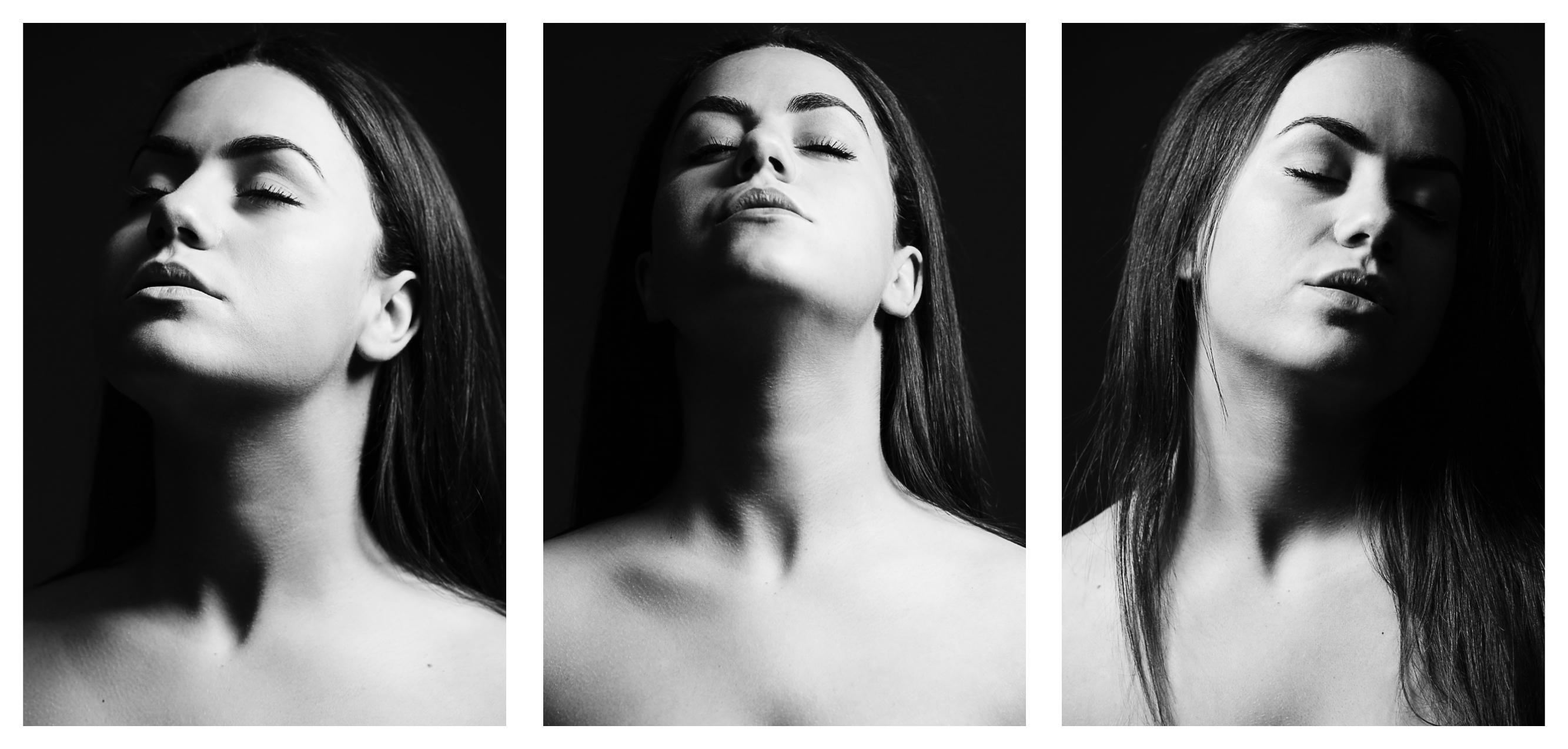 Drieluik in zwart-wit – Lisanne