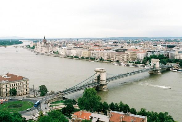 Stedentrip Boedapest - De Donau